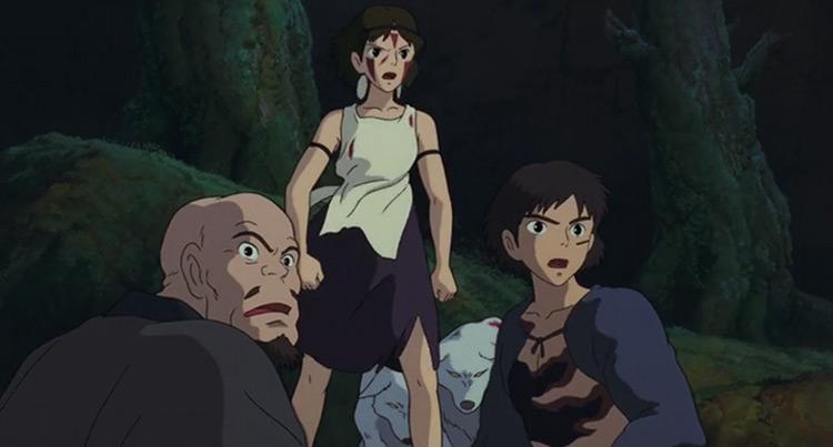 Princess Mononoke anime screenshot