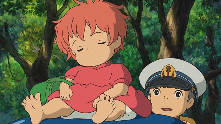 Ponyo anime screenshot