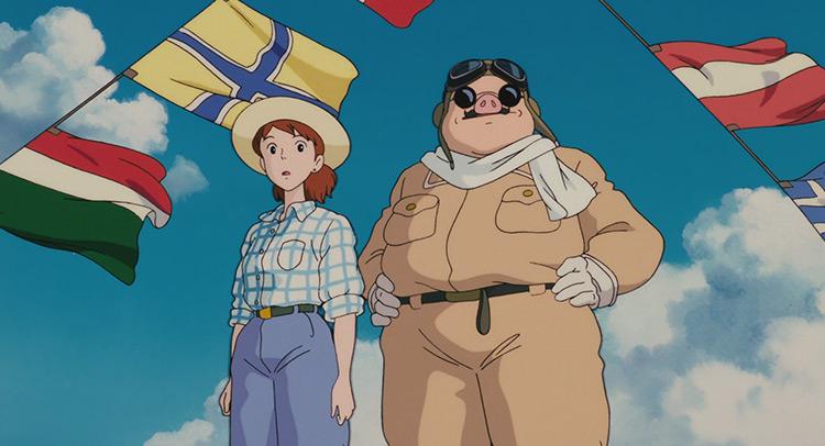 Porco Rosso Studio Ghibli anime