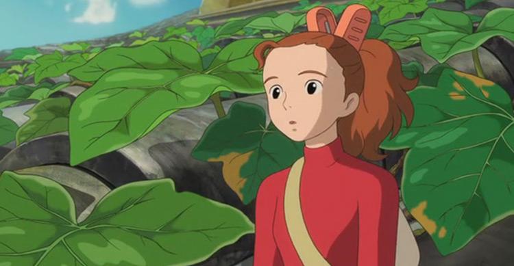 The Secret World of Arrietty anime
