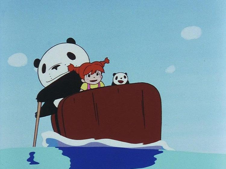 Panda! Go Panda! Studio Ghibli anime