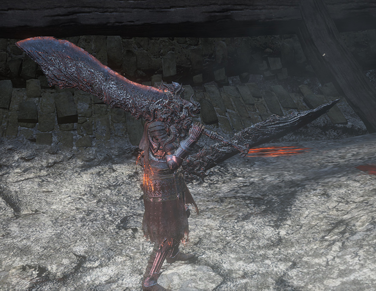 Ringed Knight Paired Greatswords in DS3
