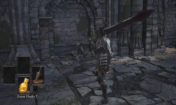 Black Knight Greatsword in DS3