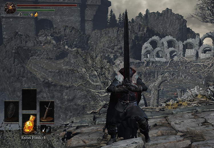 Black Knight Sword in DS3
