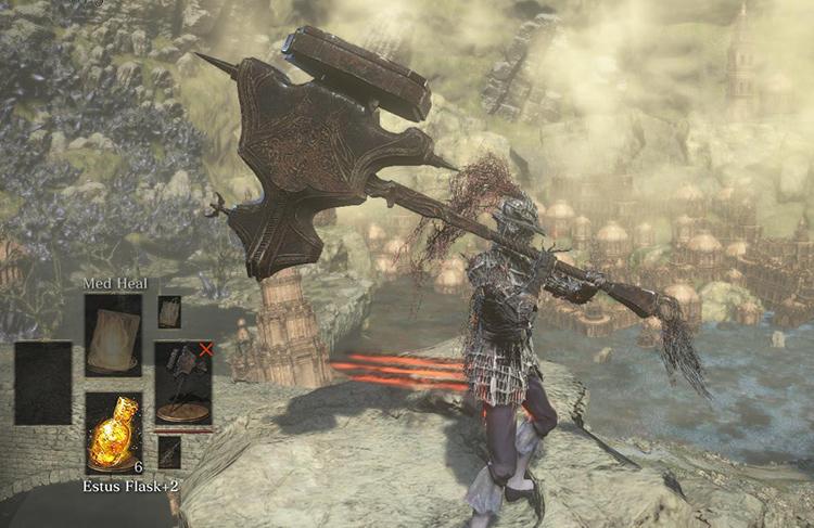Ledo's Great Hammer in DS3