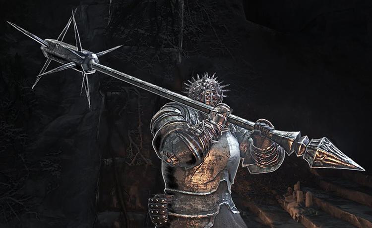 Spiked Mace DS3 weapon screenshot