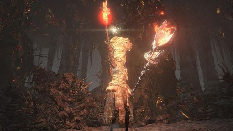 Gargoyle Flame Hammer - HD DS3 Screenshot