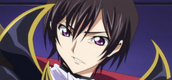 Lelouch Lamperouge from Code Geass anime