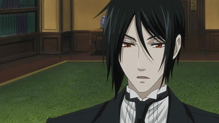 Sebastian Michaelis from Black Butler anime
