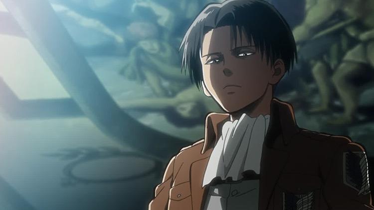 Levi in Attack on Titan anime