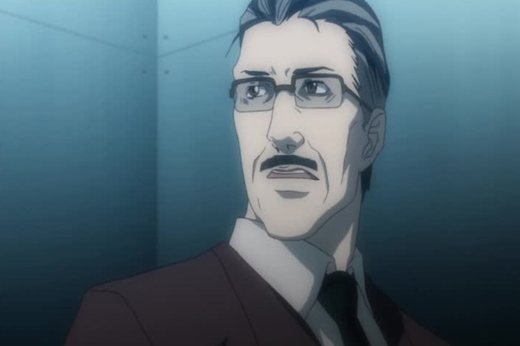 Soichiro Yagami in Death Note anime