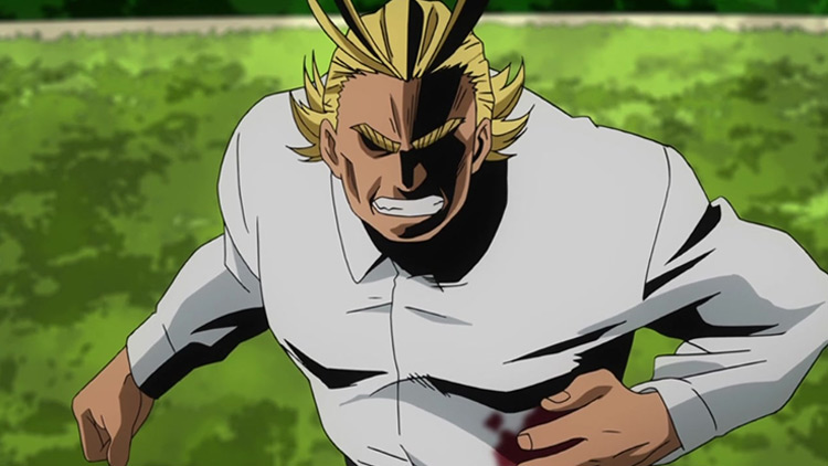 All Might in My Hero Academia anime