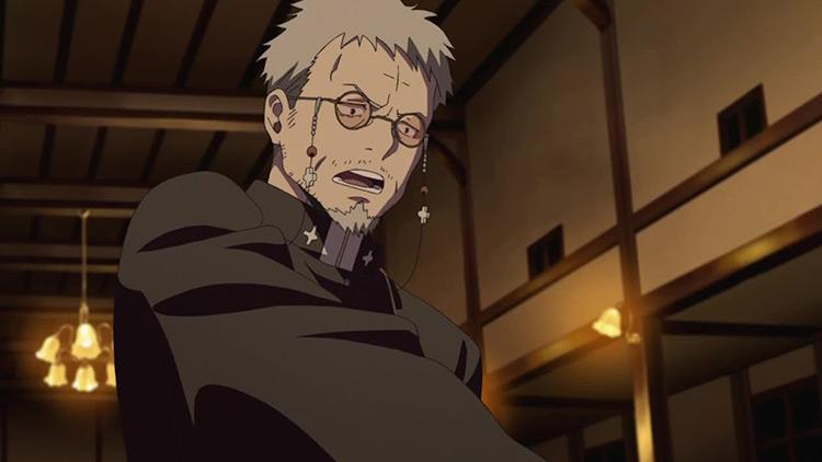 Shirou Fujimoto Ao no Exorcist anime screenshot
