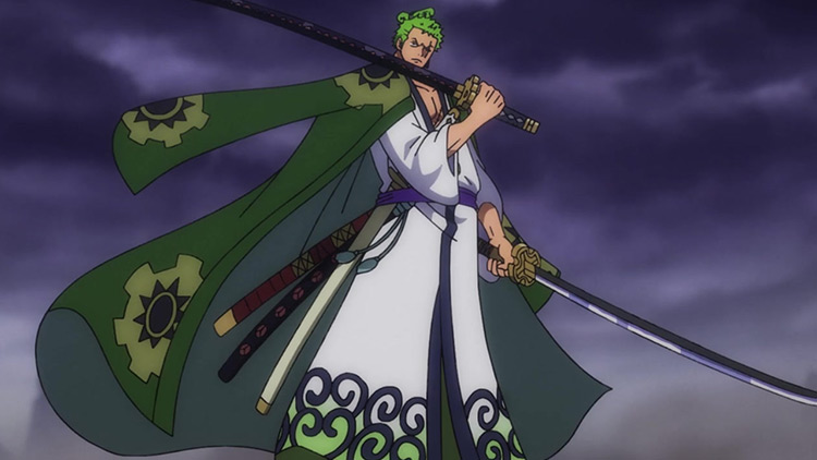 Zoro from One Piece anime