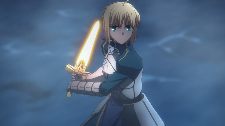 Saber in Fate/Zero anime