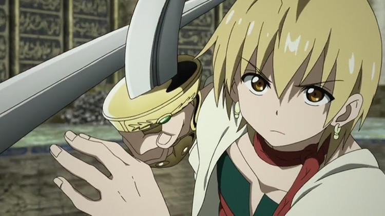Alibaba from Magi: The Labyrinth of Magic