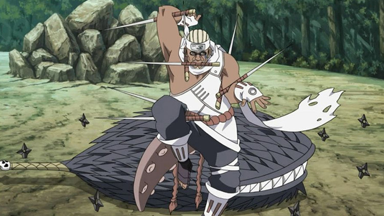 Killer Bee from Naruto: Shippuden anime