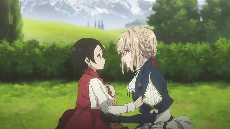 Violet Evergarden anime screenshot
