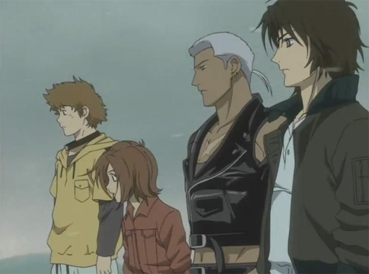 Wolf's Rain anime screenshot