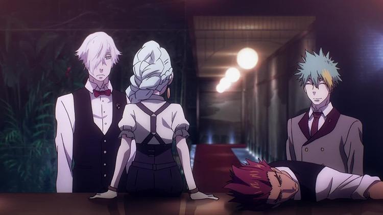 Death Parade anime screenshot
