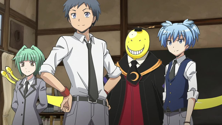 Assassination Classroom anime screenshot