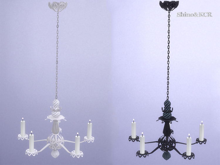 French Quarter Chandelier - Sims 4 CC