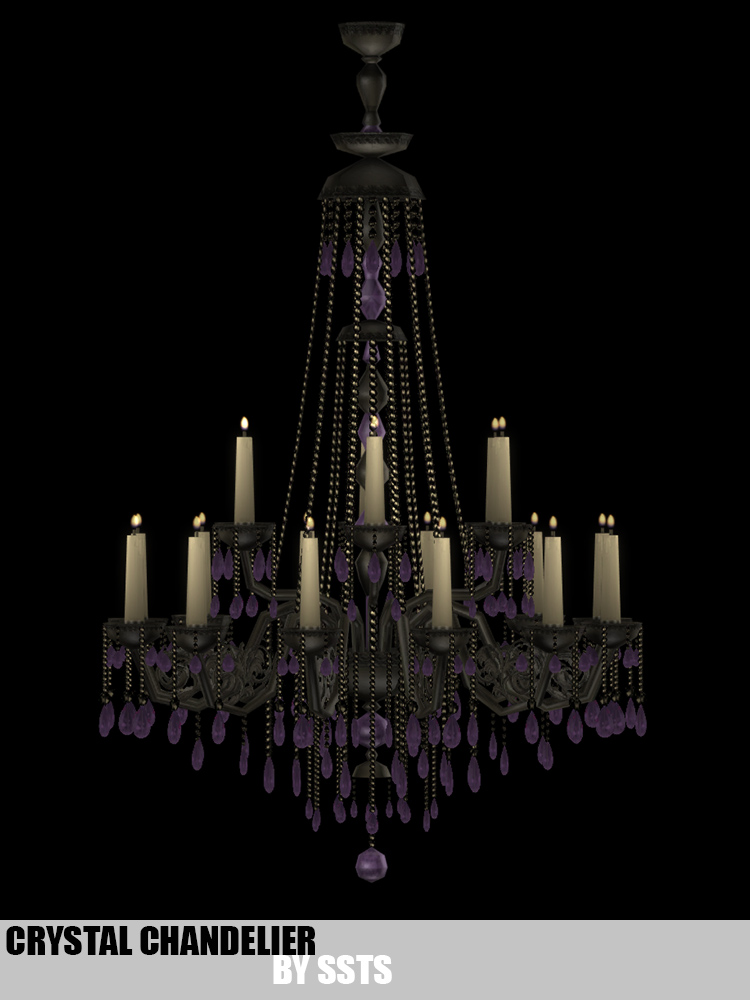 Crystal Chandeliers Set CC