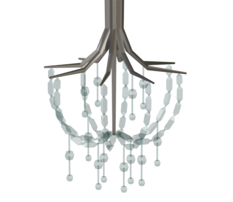 Emerson Chandelier CC for The Sims 4