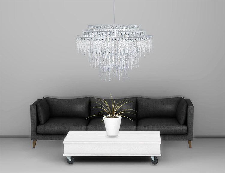 Highlights Chandelier - Sims 4 CC