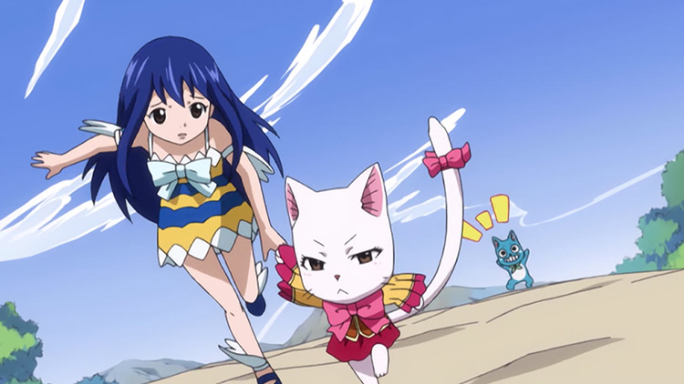 Wendy Marvell in Fairy Tail anime