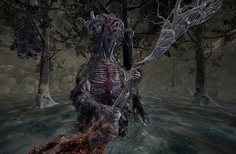 Elder Ghru in Dark Souls 3
