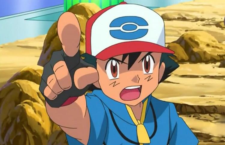 Ash Ketchum from Pokémon anime