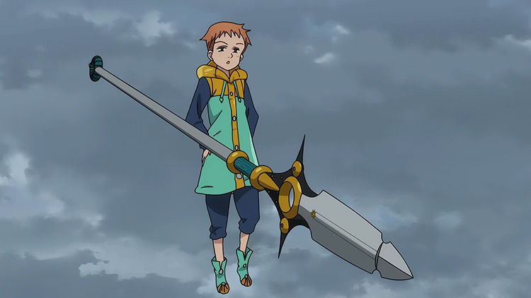 The Spirit Spear Chastiefol from The Seven Deadly Sins