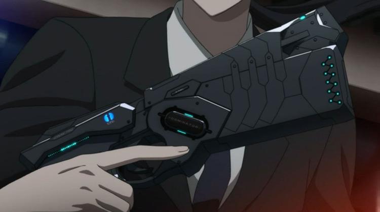 The Dominator Psycho-Pass anime screenshot