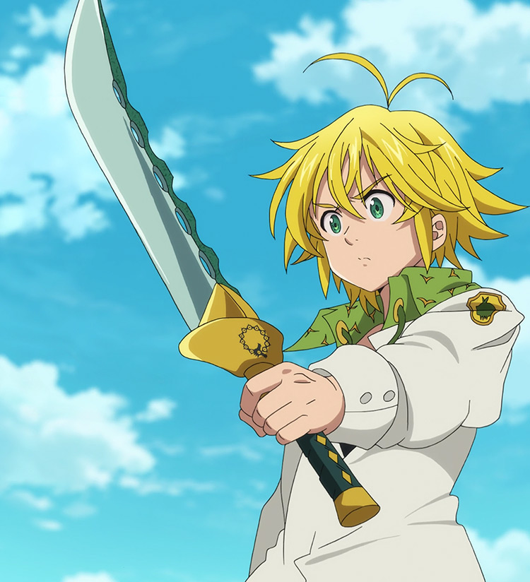 Demon Sword Lostvayne in The Seven Deadly Sins