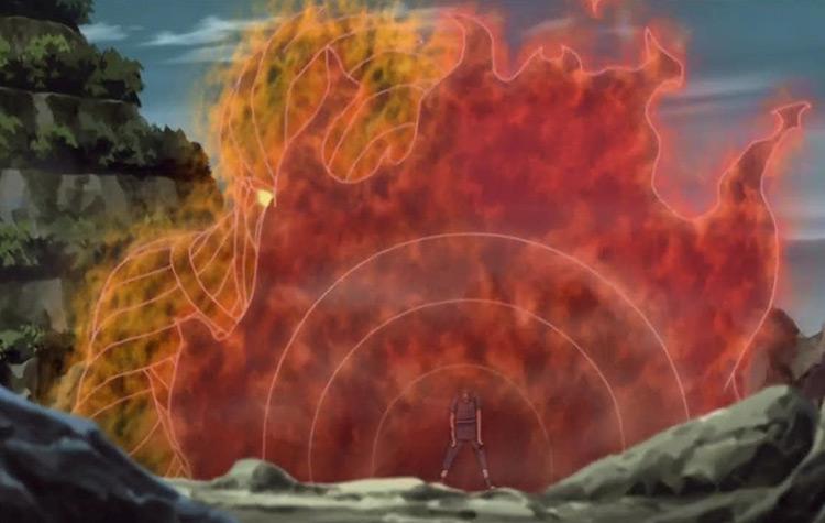 The Totsuka Blade from Naruto: Shippuden anime