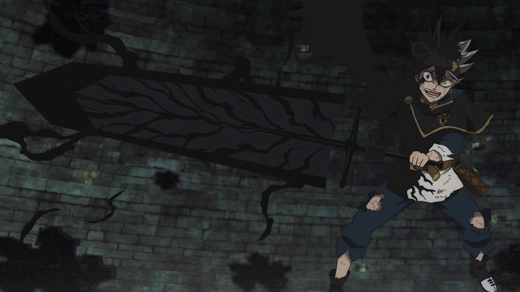 Asta's Swords from Black Clover anime