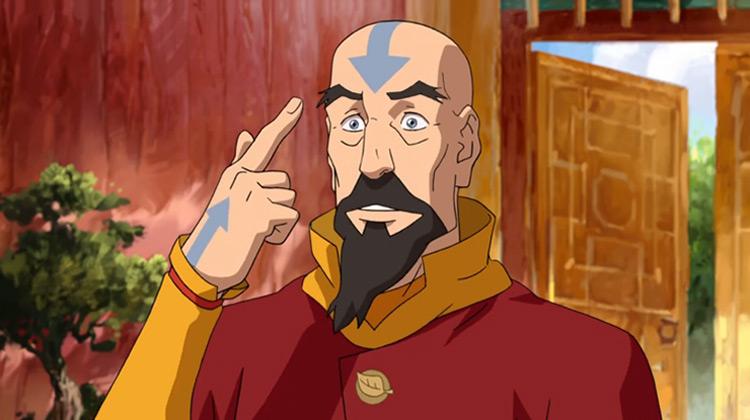 Tenzin from Legend of Korra