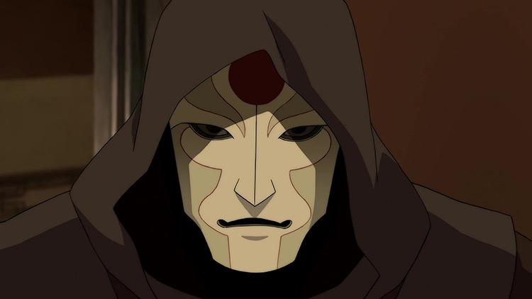 Amon from Legend of Korra anime