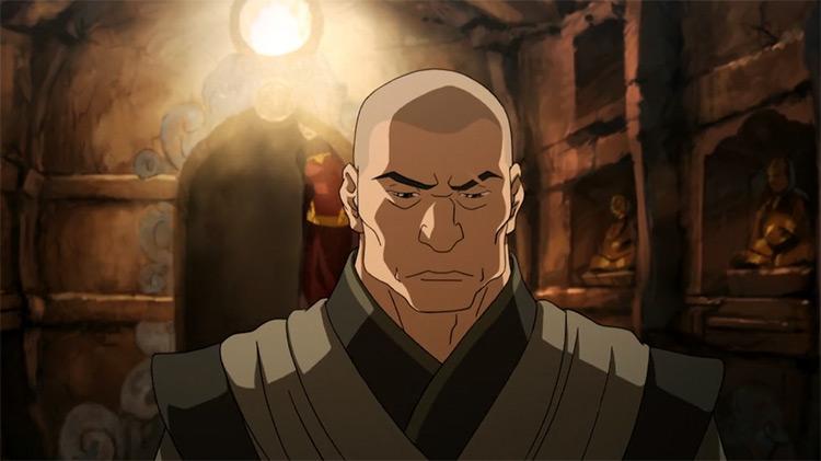 Zaheer from Legend of Korra anime