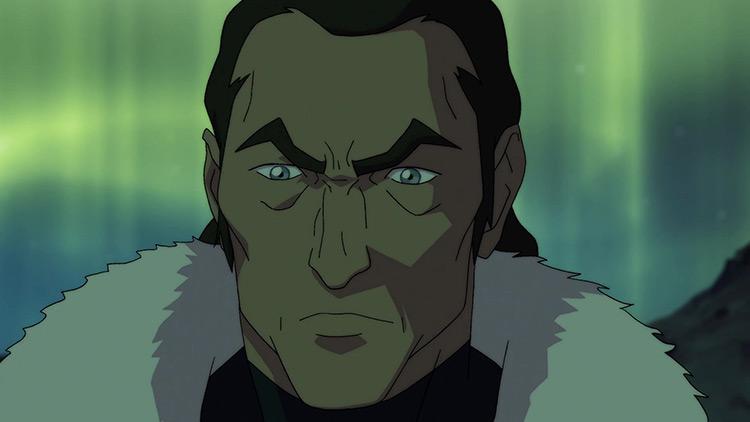 Tarrlok in Legend of Korra anime