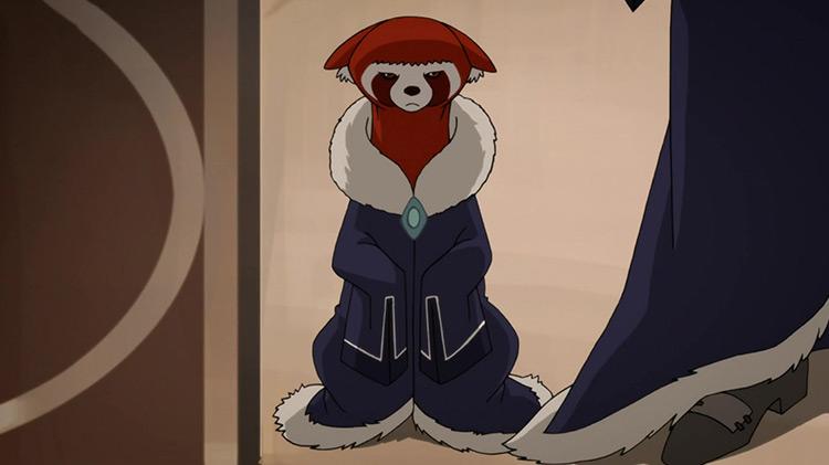 Pabu from Legend of Korra anime