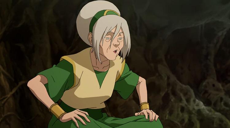 Toph Beifong in Legend of Korra anime