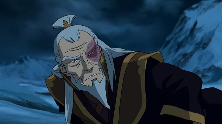 Zuko from Legend of Korra anime