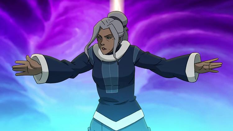 Kya from Legend of Korra anime