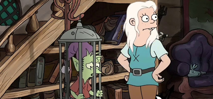 Princess Bean and Troll - Disenchantment screenshot