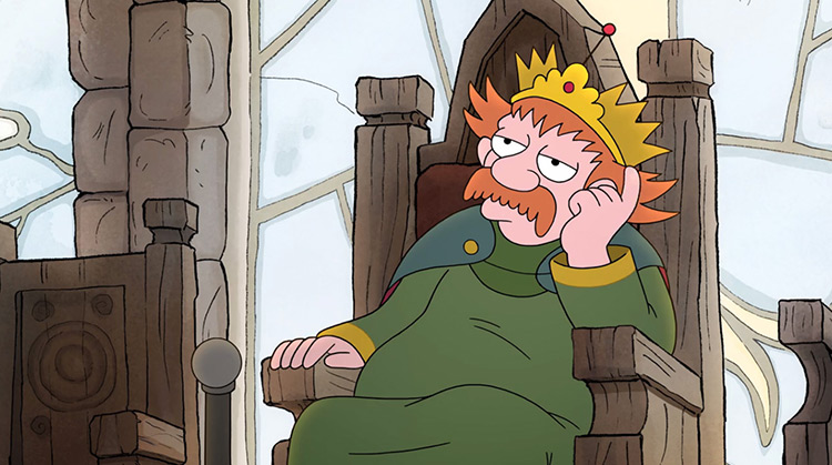 King Zog from Disenchantment anime