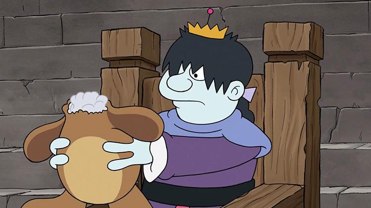 King Derek from Disenchantment anime
