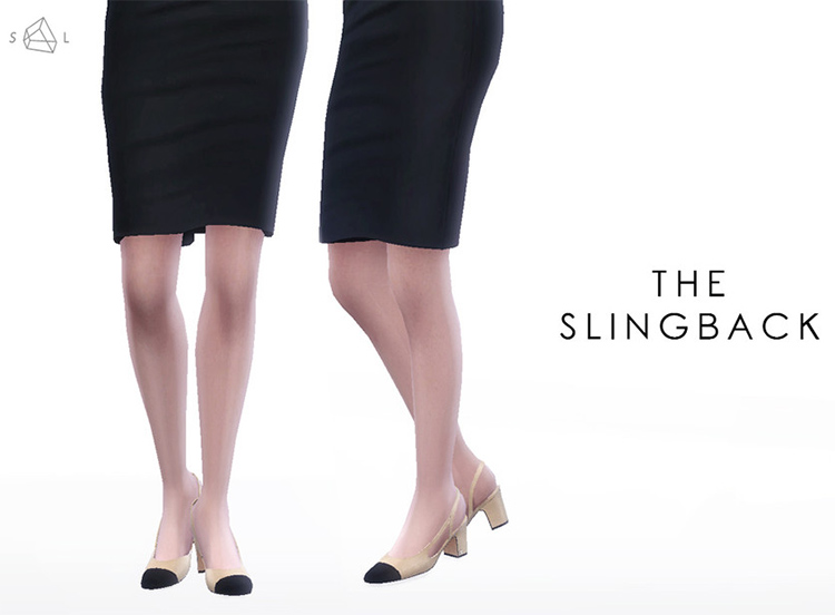 The Slingback CC from Coco Chanel