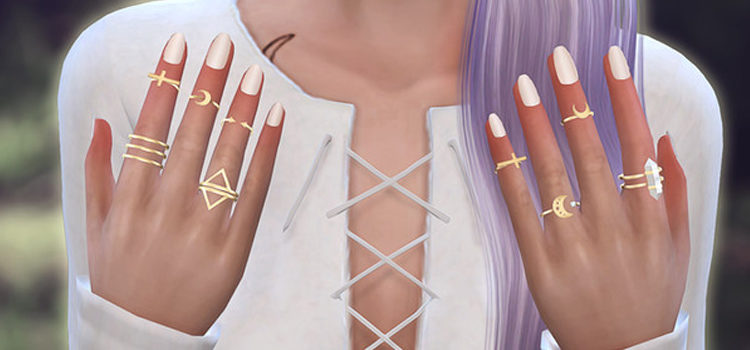 Sims 4 Rings CC: Best Ring Accessories For Men & Women